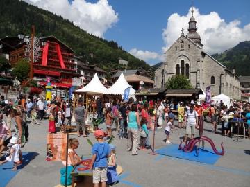 presse,dauphine,grand-bornand,bonheur des momes,festival