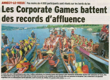presse,dauphine,annecy-le-vieux,corporate games,athletes,tardy