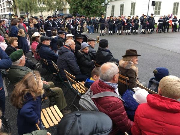 annecy,ceremonie;monument,armee,armistice