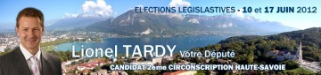 presse,essor,annecy,tardy,campagne,election,legislative 2012,candidature,conference de presse