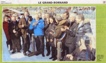 le grand bornand,inauguration,stade de biathlon,sylvi becaert,sport,jo,jo2018