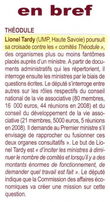 Revue parlementaire nov 2009.JPG