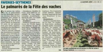 faverges,concours cantonal,vaches,abondances,montbeliardes,haute-savoie