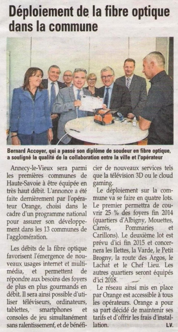 orange,france telecom,fibre,internet,amii,presse,dauphine