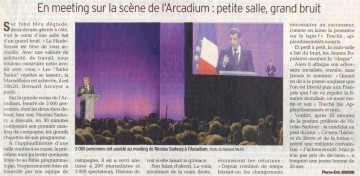 annecy,meeting,presidentielle 2012,sarkozy