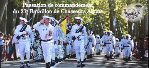 27è bca,passation,colonel,vallançon,armée,annecy