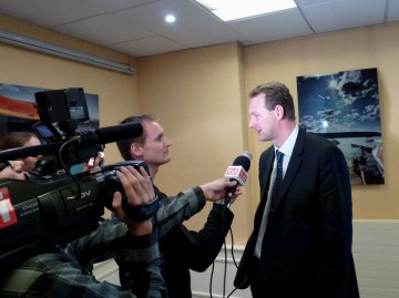 presse,essor,annecy,tardy,campagne,election,legislatives 2012,candidature,conference de presse