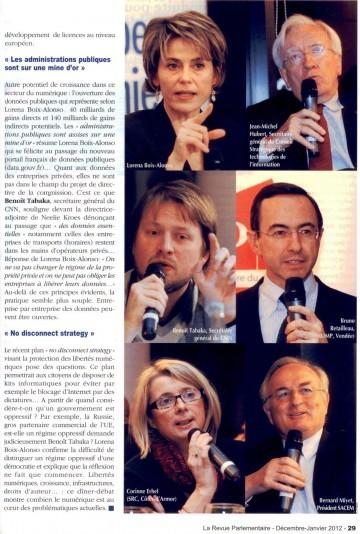 presse,la revue parlementaire