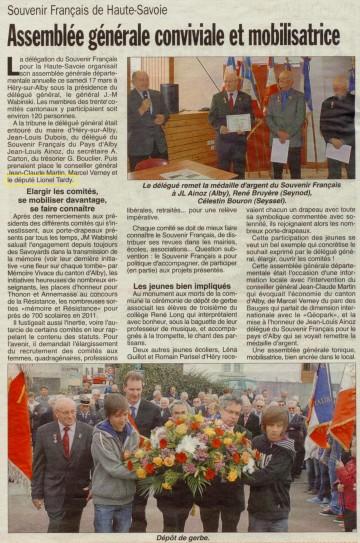 presse,dauphine,hery-sur-alby,souvenir,monument,medaille,porte drapeau