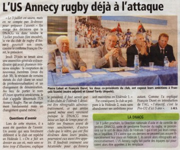 presse,dauphine,annecy,ag,rugby,association,nom,sport