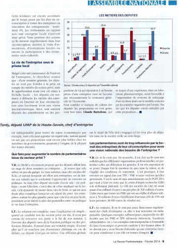 interview,presse,revue parlementaire,entreprise,pme,pacte