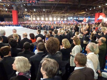 sarkozy,ump,presidentielle 2012,meeting