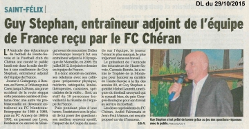 presse,hebdo,saint-felix,conference,guy stephan,football
