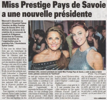 annecy,election,miss prestige,imperial palace