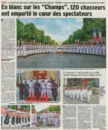 paris,ceremonie,14 juillet,27eme bca,chasseurs alpins