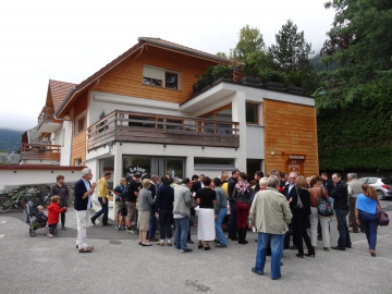 lathuile,inauguration,commerce