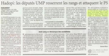 Le Figaro du 29 avril 2009.JPG