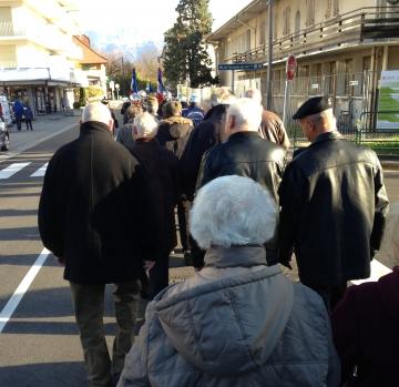 annecy,saint-jorioz,ceremonie,11 novembre,armistice,guerre