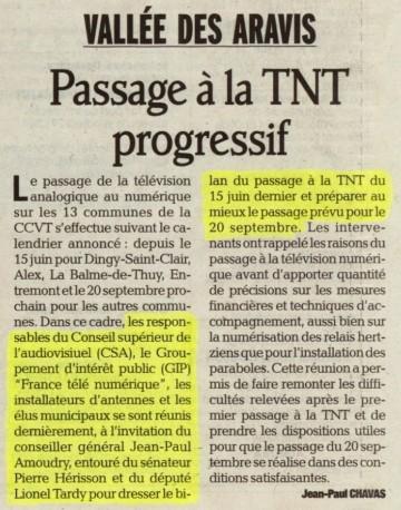 presse,essor,thones,ccvt,tnt,numerique,france télé numerique,haute-savoie,alpes