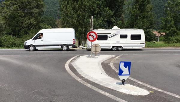 doussard,caravane,gens du voyage