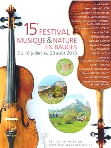 annecy,festival musique,nature,bauges