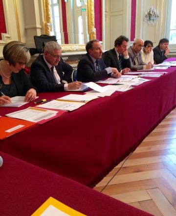 Réunion de la Commission Départementale de Financement de l'Economie en prefecture de Haute-Savoie.jpg