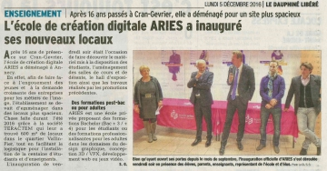 annecy,inauguration,ecole aries,haute-savoie