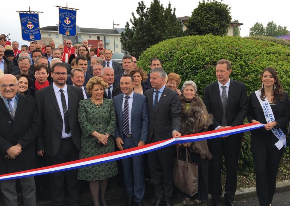 Roche sur foron inauguration de la foire internationale for Foire la roche sur foron 2017