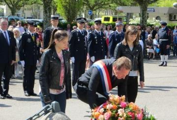 annecy,ceremonie,commemoration,8 mai 1945,haute-savoie