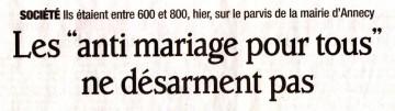 annecy,manifestation,mariage,mariage pour tous,assemblee,loi