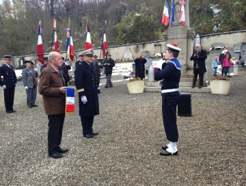 alby-sur-cheran,militaire marine,jeunes,fanion,pmm,defense nationale,marine nationale