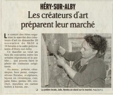 hery-sur-alby,marche,poterie,cadeaux,createur,art