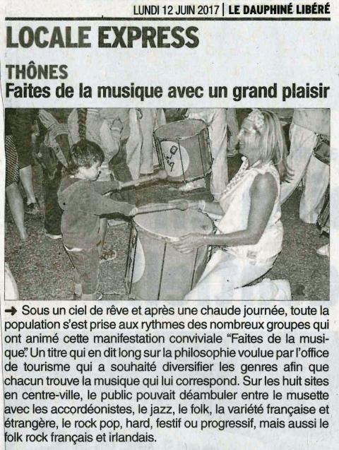 thones,fete de la musique