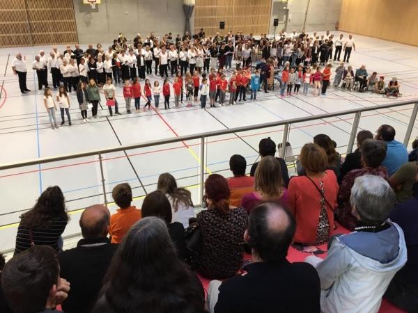 alby-sur-cheran,inauguration,porte ouverte,culture,sport,gymnase,