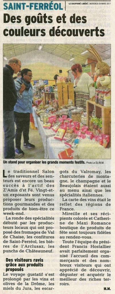 Salon des saveurs et des senteurs lionel tardy for Salon des saveurs