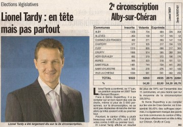 presse,dauphine,haute-savoie,annecy,tardy,depute,elections législatives 2012