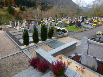 les clefs,inauguration,cantine,cimetiere