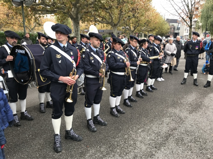 annecy,armee,armistice,chasseur alpin,guerre,ceremonie