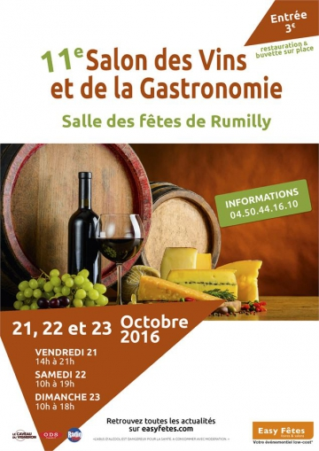 rumilly,salon des vins,gastronomie,haute-savoie