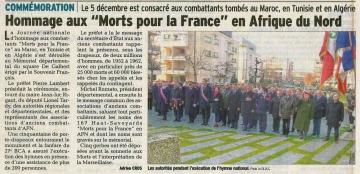 annecy,ceremonie,hommage aux morts,algerie,maroc,tunisie,afn,haute-savoie