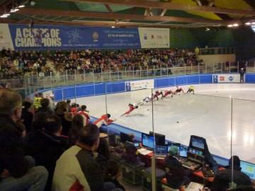 annecy,jeux mondiaux,militaire,patinoire,short track