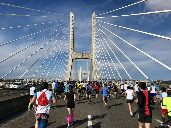 portugal,lisbonne,lisboa,edp,semi-marathon,meia marathon,half marathon,course,run,runnig,pont vasco de gama