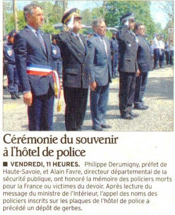 annecy,marquisat,policier,police,ceremonie