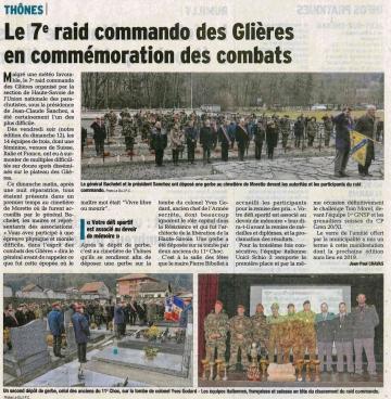 thones,7eme raid,commando,glieres,ceremonie,haute-savoie