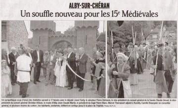 alby-sur-cheran,medievales,moyen age,manifestation,guerrier,armure