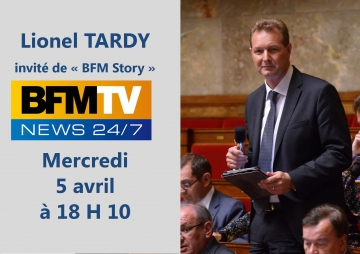 tardy,bfm,tele,television,fillon,debat,interview