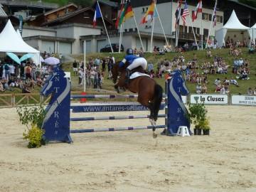 la clusaz,jumping,cheval,hippisme,concours