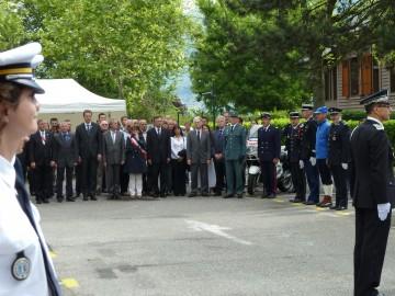 annecy,commissariat,ceremonie,police,hommage