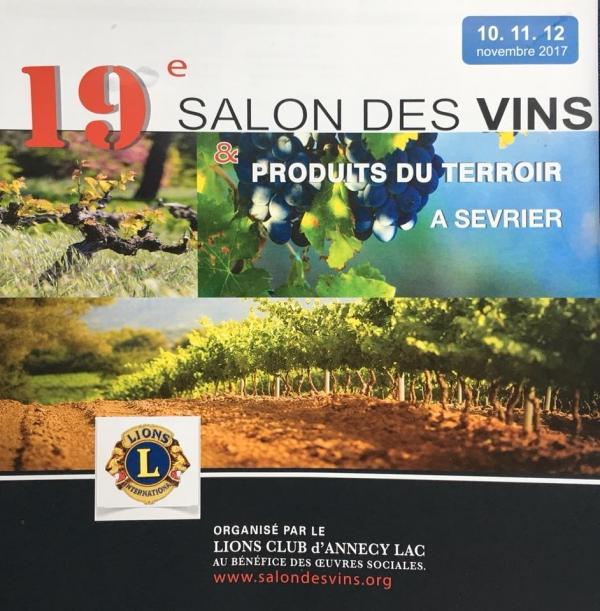 sevrier,salon,vin,lions club