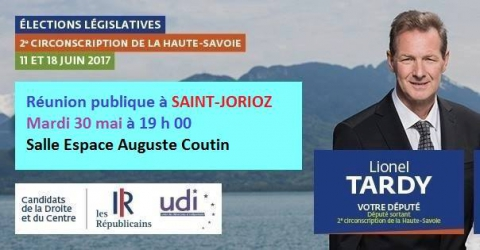 saint-jorioz,reunion publique,legislatives 2017,tardy,duliege,haute-savoie